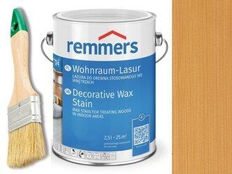 Lazura woskowa Remmers do wnętrz 2,5 L DĄB