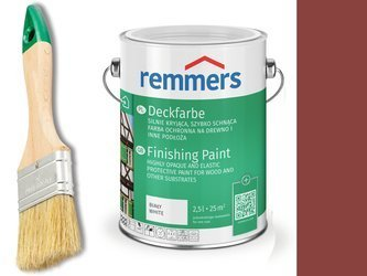Remmers Farba do drzwi CZERWIEŃ SKANDYNAWSKA 2,5 L