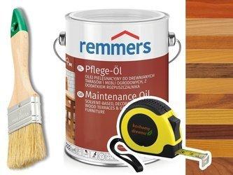 Remmers Pflege-Ol olej do drewna tarasu KOLORY 10L