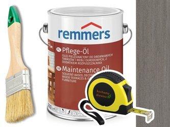 Remmers Pflege-Ol olej do tarasu GRAFITOWY 5L