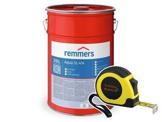 Remmers SL-414/30 Lakier wodny drewna 20L PÓŁMAT