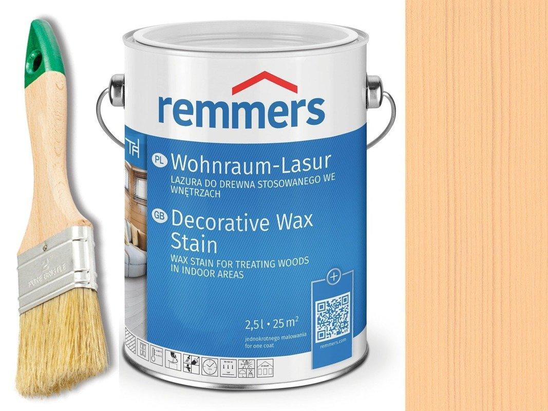 Lazura woskowa Remmers do wnętrz 0,75 L BRZOZA