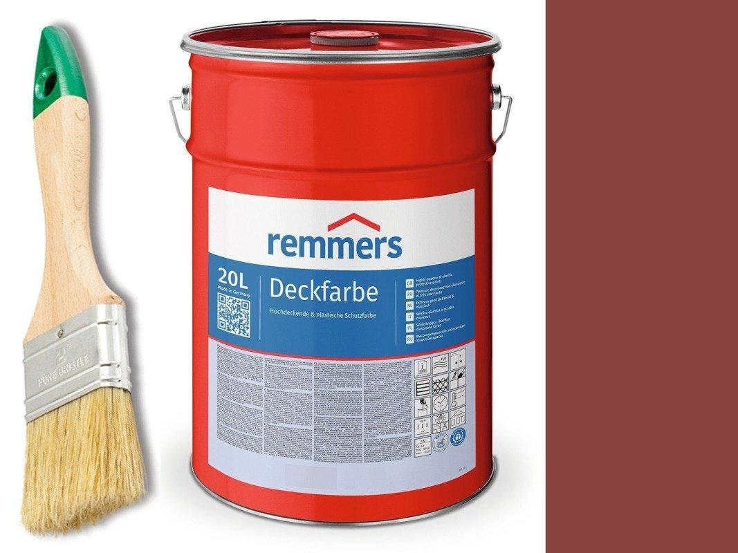 Remmers Farba do drzwi CZERWIEŃ SKANDYNAWSKA 10 L