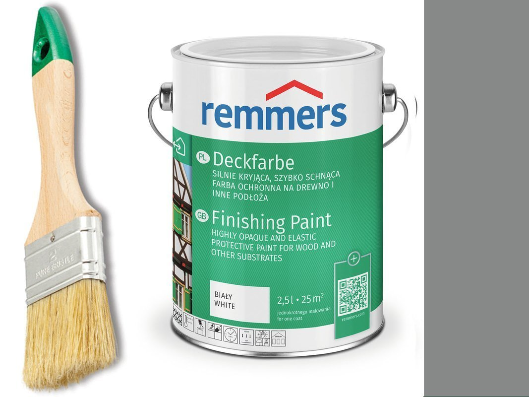 Remmers Farba do drzwi mebli CIEMNO SZARY 0,75 L