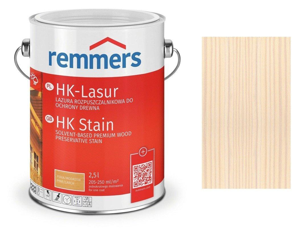 Remmers HK-Lasur impregnat do drewna 2,5 L BIAŁY