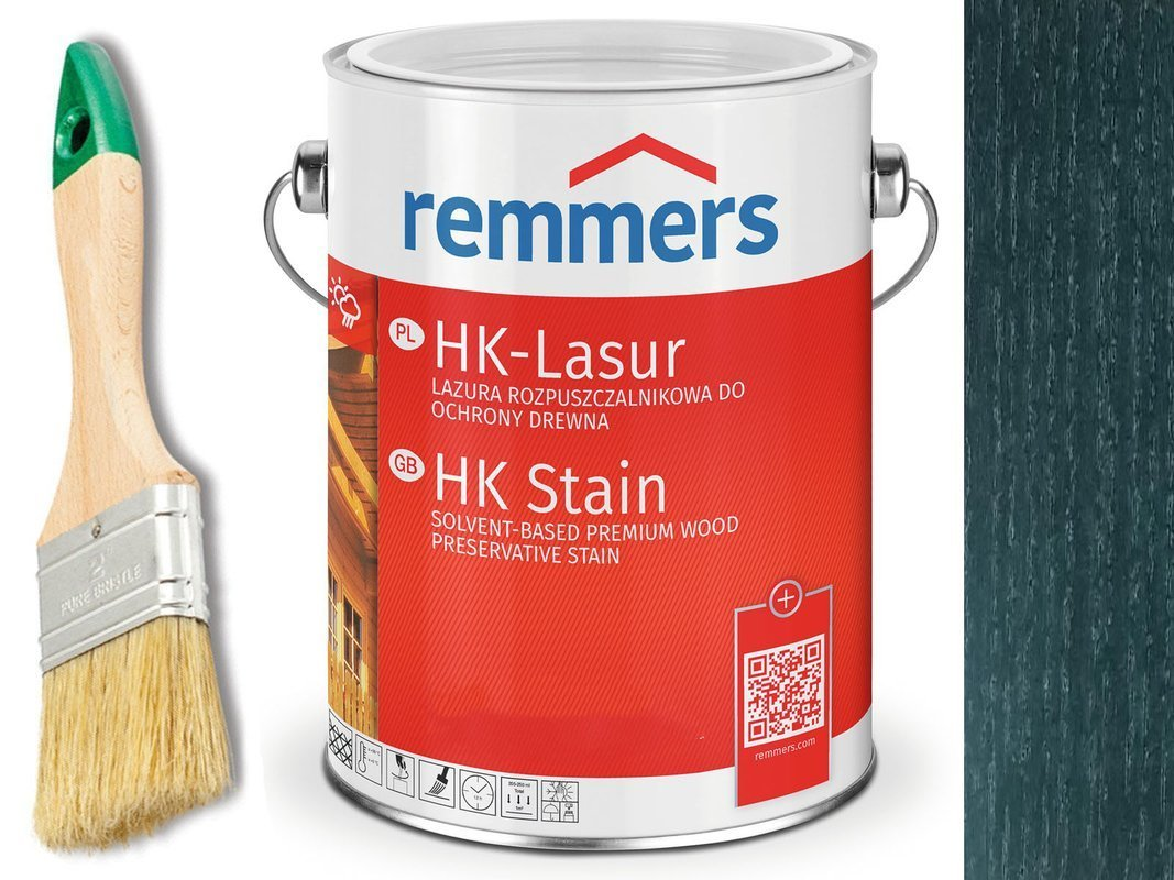 Remmers HK-Lasur impregnat do drewna 2,5L PAPROĆ