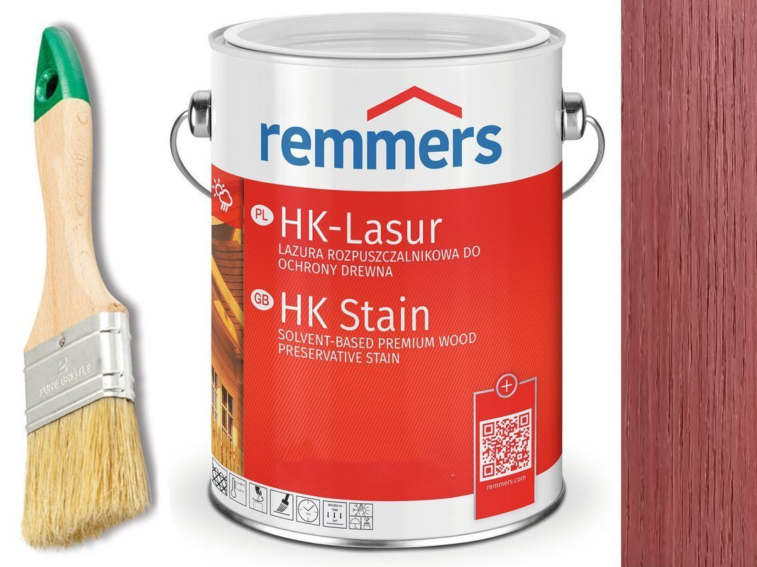 Remmers HK-Lasur impregnat do drewna 2,5L RABARBAR
