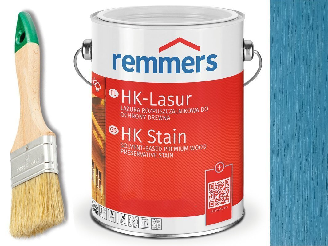 Remmers HK-Lasur impregnat do drewna 5L LAZUROWY